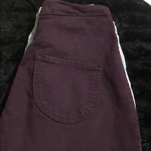 Fashion Nova Skinny Highwaist Plum Jeans